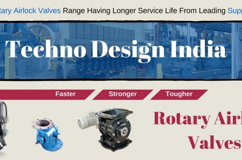 Source Rotary Airlock Valves Range Having Longer Service Life From Leading Suppliers Only