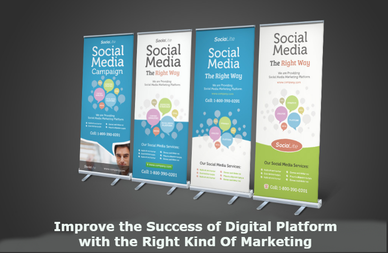 Improve The Success Of Digital Platform With The Right Kind Of Marketing