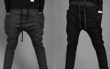 Calfskin Jogger Pants Make You Look Hot