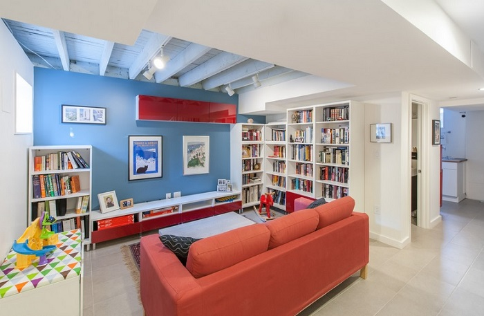 Unique Ceiling Design Ideas For Contemporary Basement