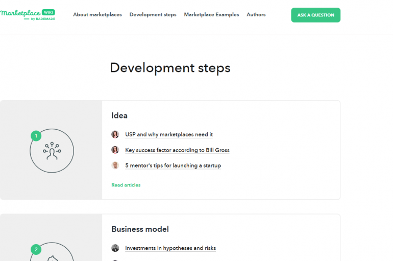 Create A Marketplace Website Online To Jump Start Your Business With Wiki.Rademade.com